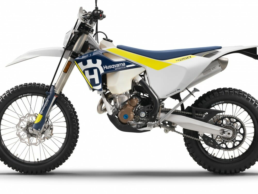 2017 Husqvarna FE Off-Road Dual Sport First Look - Cycle News