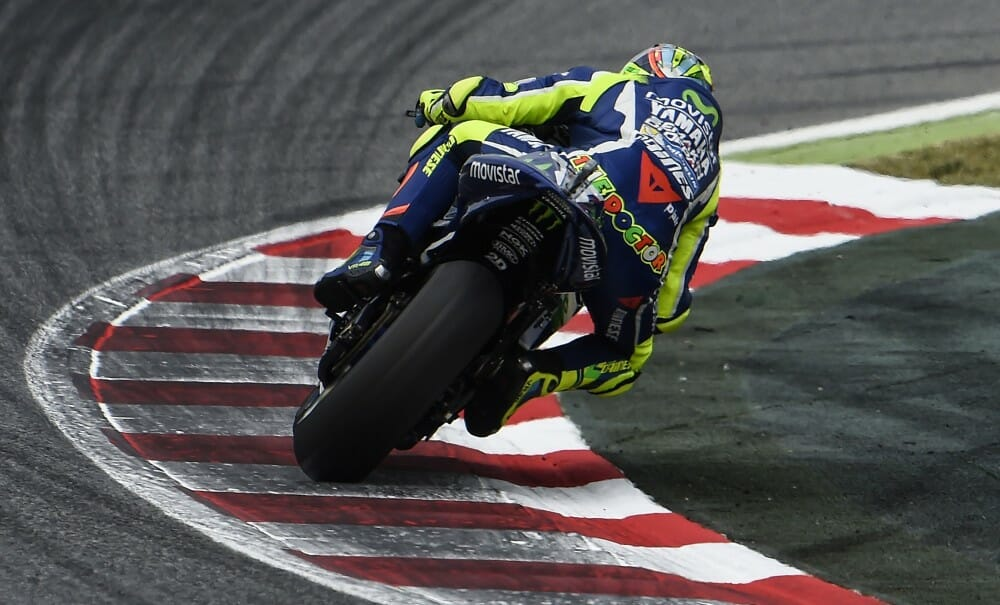 MotoGP: Valentino Rossi Wins Epic Battle over Marc Marquez at Catalunya - Cycle News